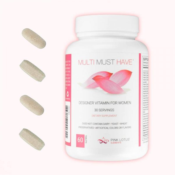 multi must have bottle with tablets