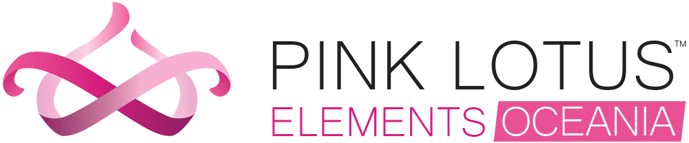 pink lotus elements oceania logo
