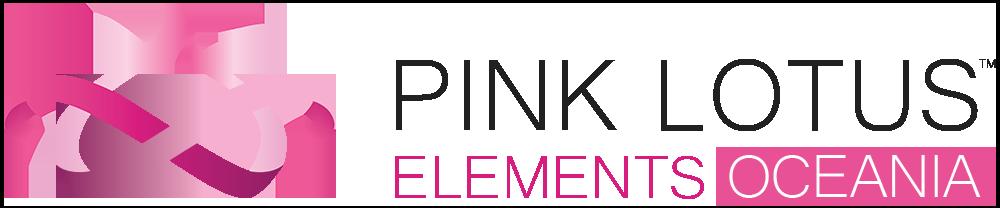 pink lotus elements oceania logo